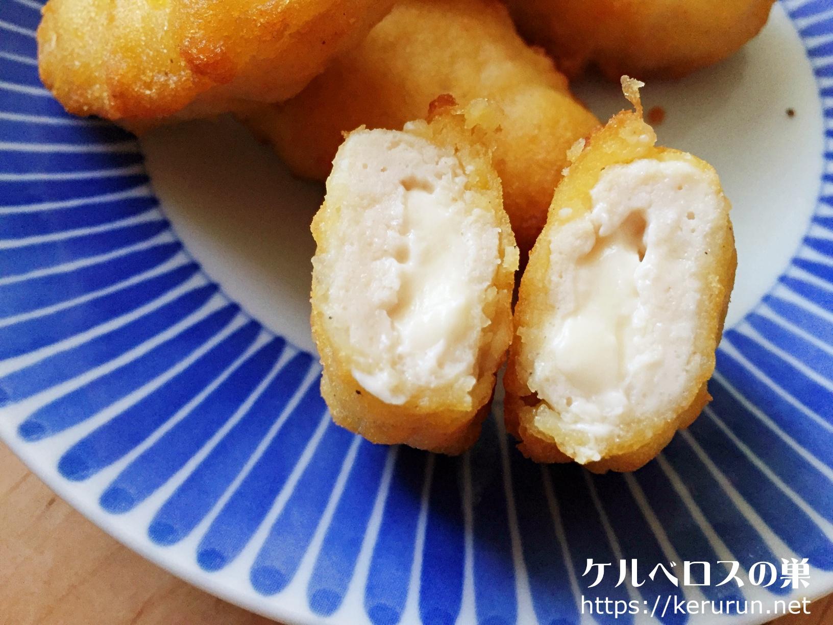 【コストコ】kiriクリームチーズ入りチキンナゲット