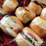 ディナーロールのサンドイッチ弁当