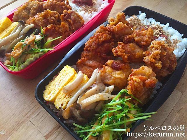 弁当LOG 鶏の唐揚げ弁当