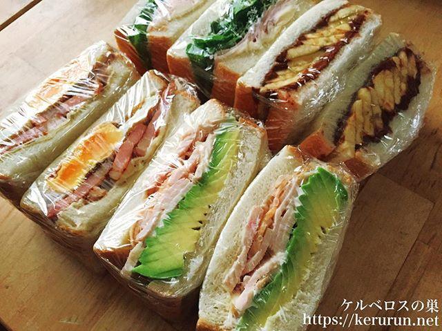 サンドイッチのお弁当