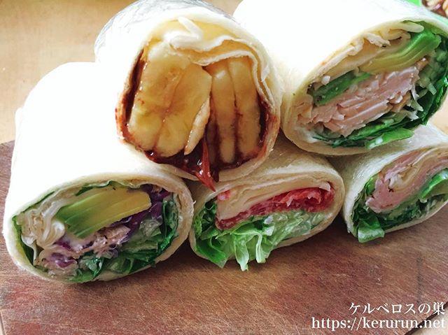 【コストコクッキング】サラダラップのお弁当