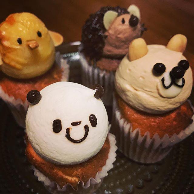 Fairycake Fairの動物カップケーキ