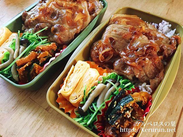 十勝豚丼のタレで作る豚丼弁当
