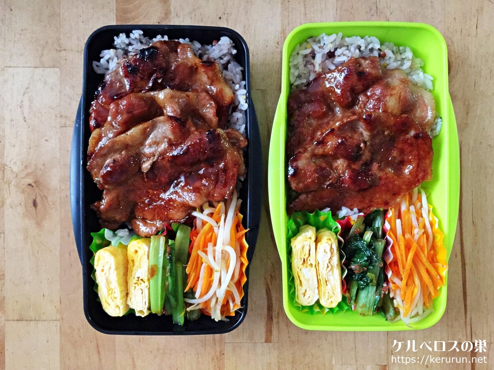 「十勝豚丼のたれ」で作る豚丼弁当