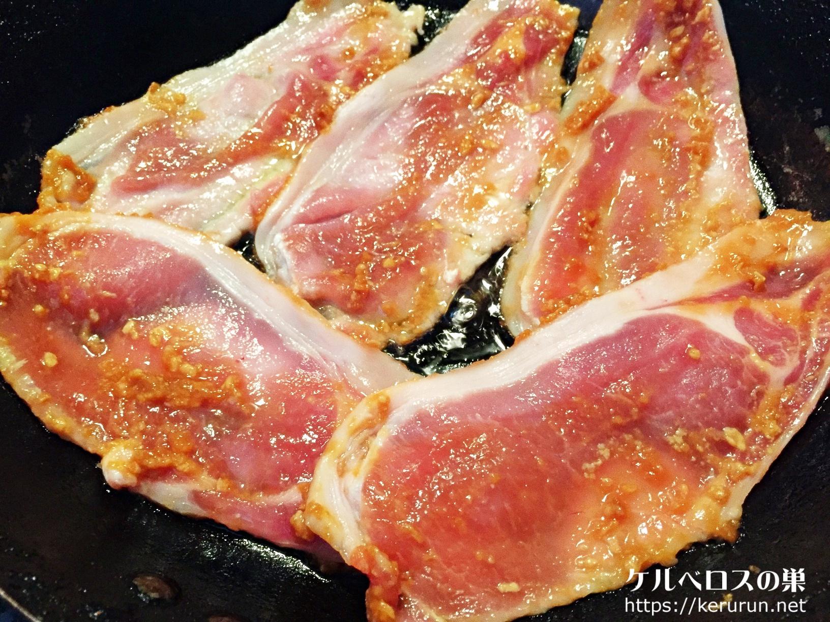 【食材アレンジ・冷凍保存】コストコの豚薄切り肉で作る味噌漬け焼き