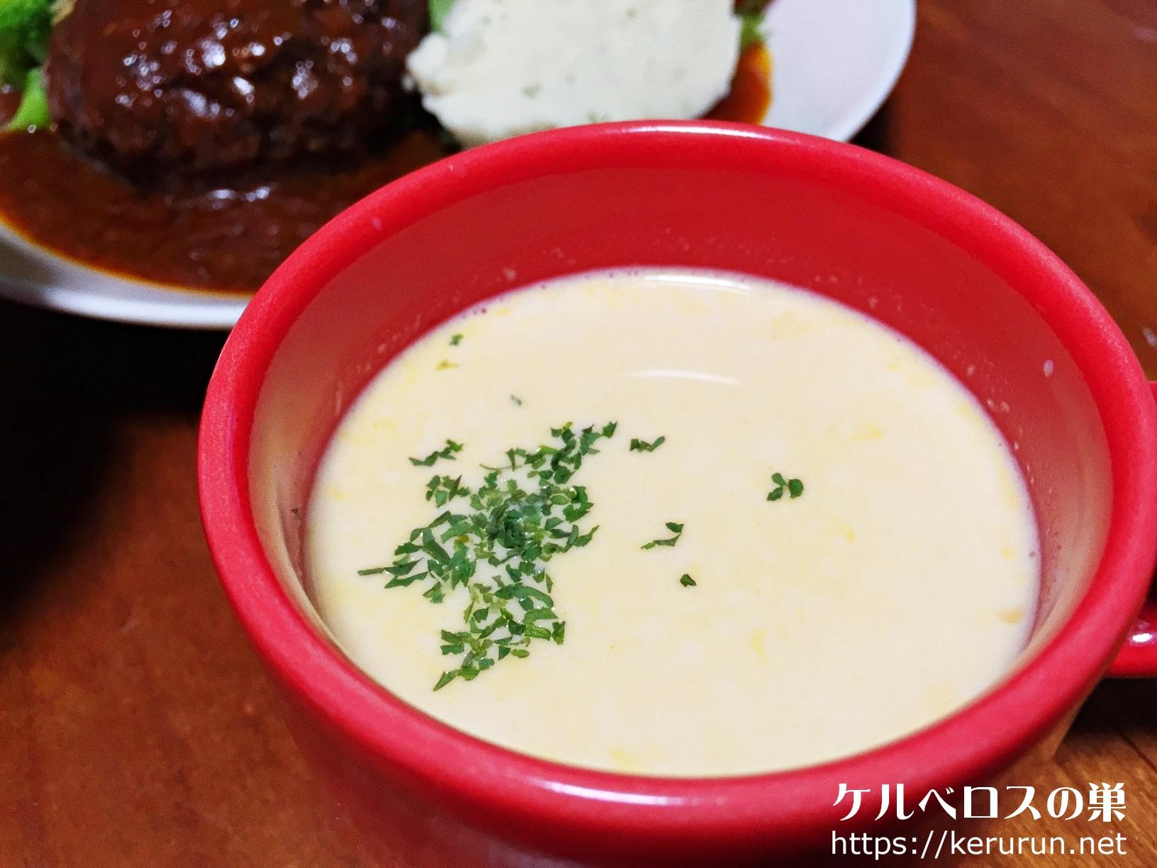 ベル食品スープはやっぱり北海道でしょ。コーン