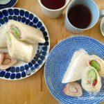 【コストコ活用術】コストコのフラワートルティーヤで作るサラダラップ