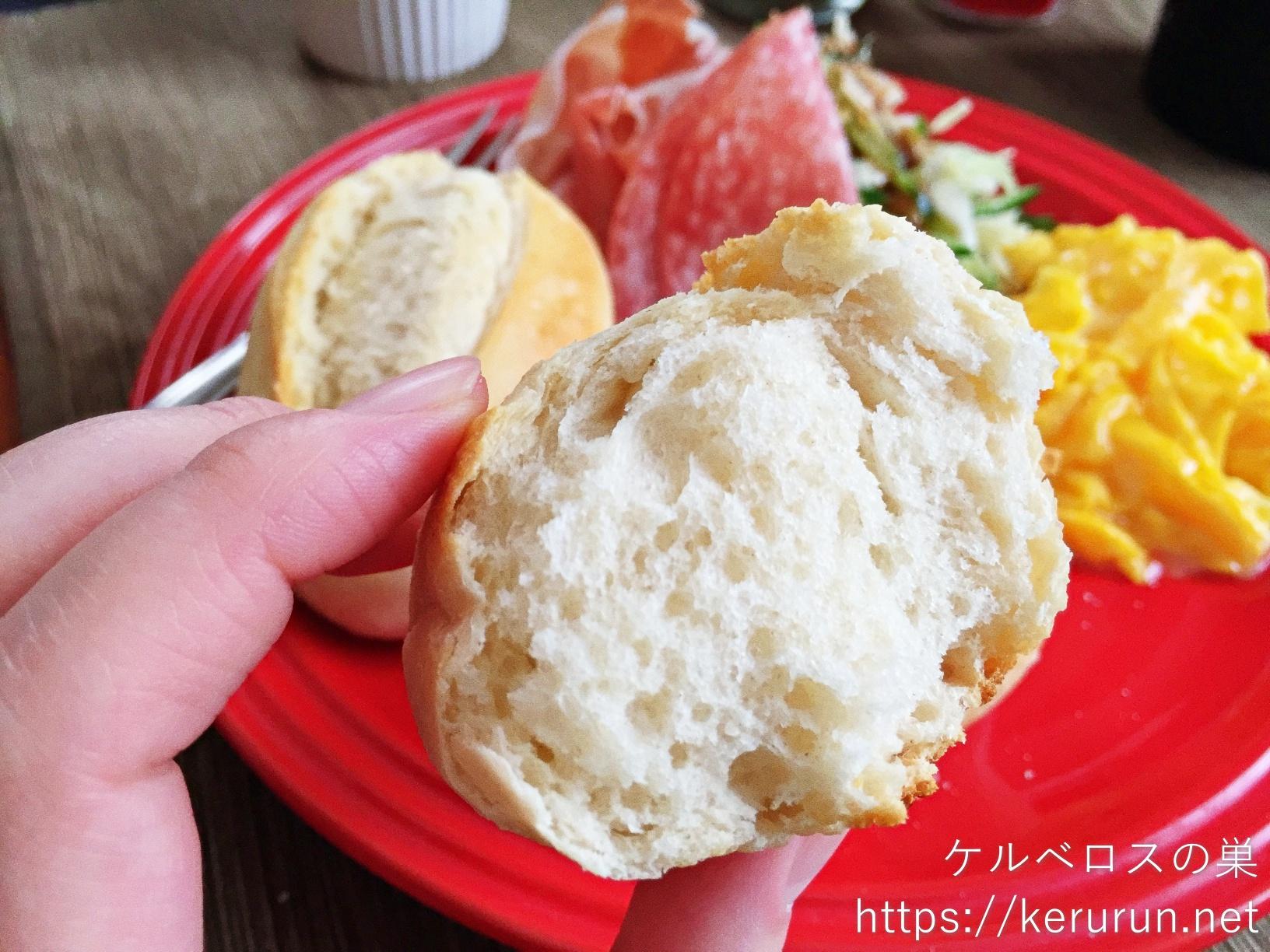 メニセーズのミニパンで休日の朝ごはん