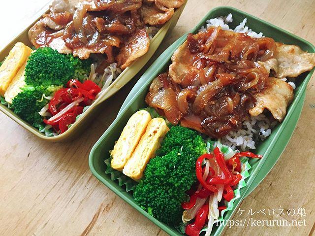 コストコの豚ロース薄切りで作る生姜焼き弁当