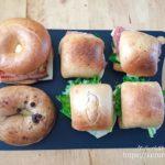 コストコのパンで作るサンドイッチのお弁当
