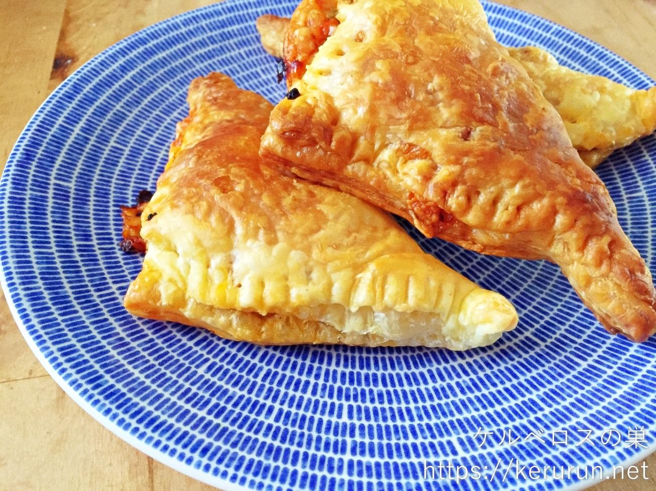 パルシステムのお料理セット「とろ~りチーズミートパイ」で作るおやつ