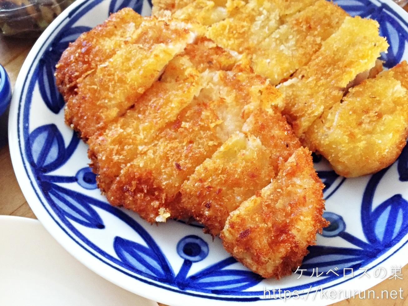 コストコの国産豚肉で作るとんかつ弁当