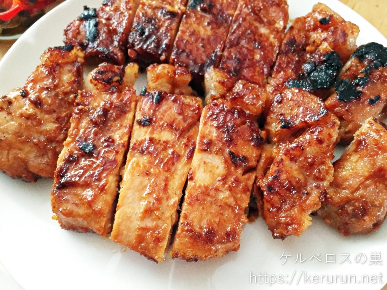 コストコの国産豚肉で作る味噌漬け焼き弁当